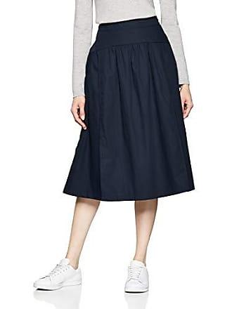 a0dd025da3 Esprit 029EE1D007-Falda Mujer Azul (Navy 400) 38(Talla del Fabricante