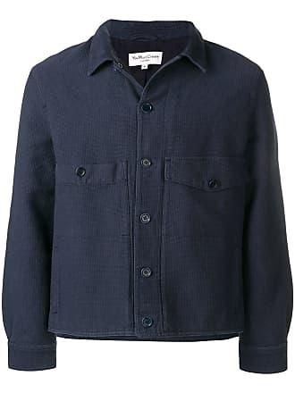Ymc You Must Create buttoned shirt jacket - Blue