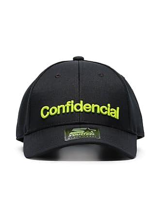 Marcelo Burlon Cappello da baseball Confidencial con ricamo - Di Colore Nero 63db1b8889f2