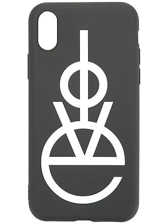Ports V Capa de Iphone com logo - Preto