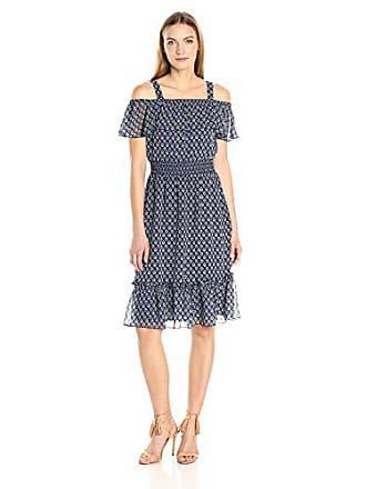 3cb73697c9 Tommy Hilfiger Womens Spring Garden Print Chiffon Dress