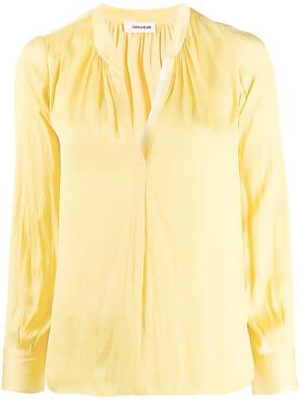 Zadig & Voltaire Tink satin shirt - Yellow