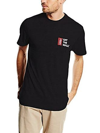 33ba868129ab Vans off The Wall III, T-Shirt Uomo, Nero (Black Blk)