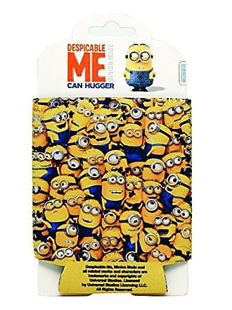 Universal Works Silver Buffalo DM0133 Despicable Me Cluttered Minions Can Hugger, 4 x 5 inches