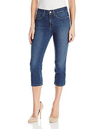 NYDJ Womens Petite Size Alina Skinny Capri Jeans, Cleveland, 6P