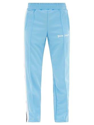 b9c4c7aadde2ce Palm Angels Side Stripe Jersey Track Pants - Mens - Light Blue