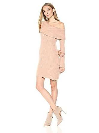 95be5f69e8d9d Somedays Lovin Womens Like A Melody Off The Shoulder Sweater Dress, Dusty  Pink, Medium