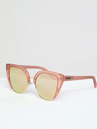 Quay Eyeware Oh my dayz - Lunettes de soleil yeux de chat - Or rose - 75d8f39c7582
