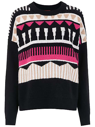 HUGO BOSS Blusa de tricô com lã - Preto