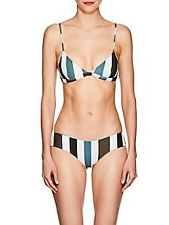 9bc6922c04 Mikoh Swimwear Womens Belize Triangle Bikini Top - Stripe Size L
