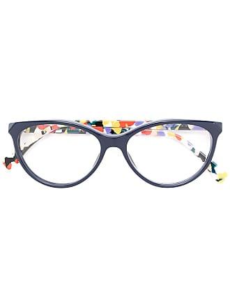 Fendi Armação de óculos gatinho - Azul