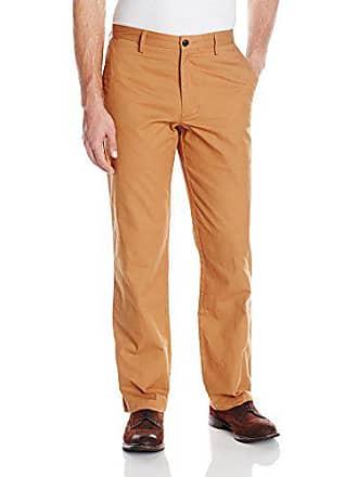 Dockers Mens Field Khaki Straight-Fit Flat-Front Pant, Chipmunk - discontinued, 32W x 32L