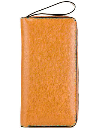 Valextra all in one document holder - Yellow