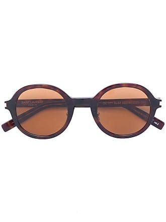 Saint Laurent Eyewear Óculos de sol SL 161 003 - Marrom