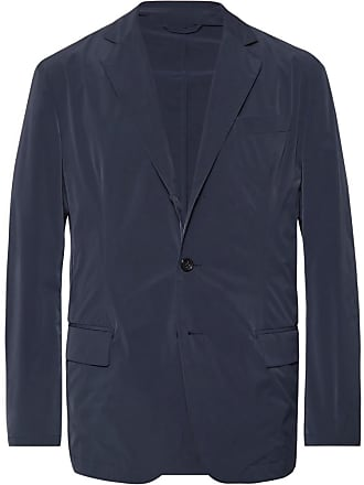 Incotex Navy Shell Blazer - Navy