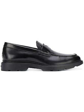 Hogan penny loafers - Black