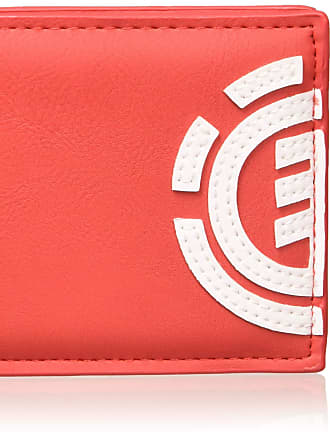 Element Mens Daily Wallet, Red (Fire Red), 10 centimeters