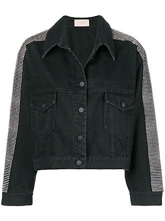 Christopher Kane Jaqueta jeans - Preto