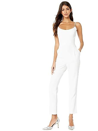 fa3844c4469 Bcbgmaxazria Strappy Pleated Jumpsuit (Optic White) Womens Jumpsuit    Rompers One Piece