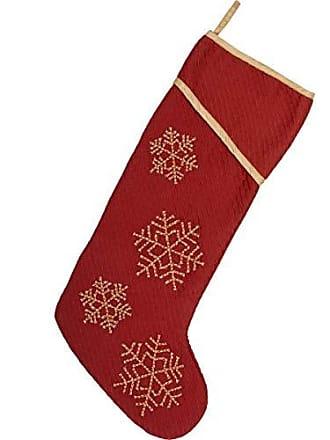 VHC Brands Holiday Decor Revelry Stocking, 20 x 11