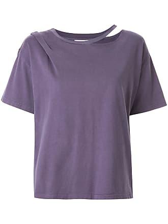 Ground-Zero Camiseta com recorte - Roxo