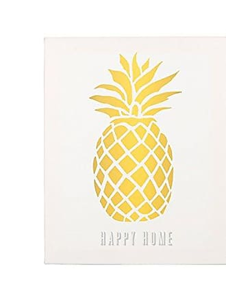 Cathy's Concepts Pineapple Gallery Wrapped Canvas
