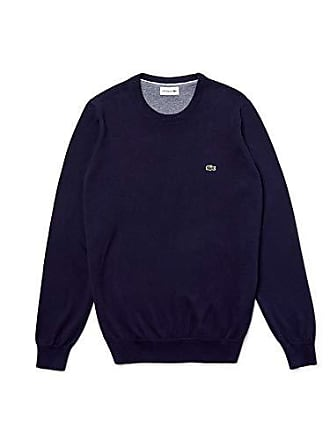 4992af51c0 Lacoste AH3467 Pull, Bleu Farine-Marine Multicolore M65, XXXX-Large (Taille