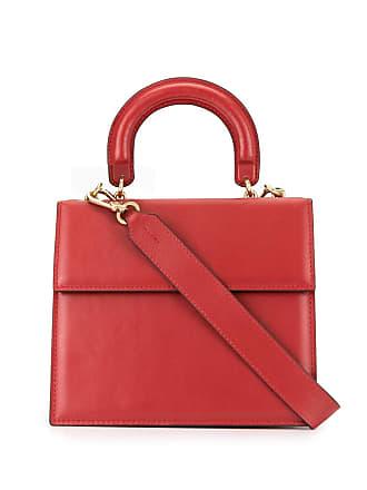 0711 Bolsa tote pequena - Vermelho