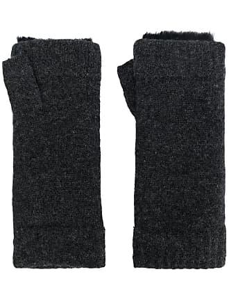 N.Peal Par de luvas em cashmere - Cinza