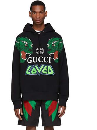 b9926bfa68b3 Gucci Black Loved Tigers Hoodie