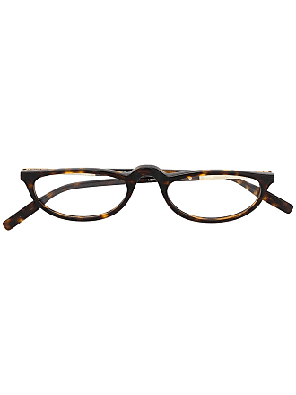 Montblanc cat-eye frame glasses - Brown