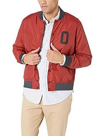 Oakley Mens Street Bomber Jacket, Iron red, M