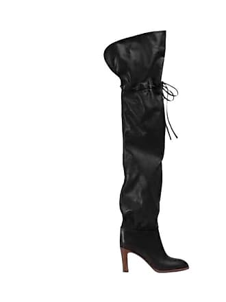 Jessica Buurman JONAS Draw-String Leather Over The Knee Boots 86fb2a534e