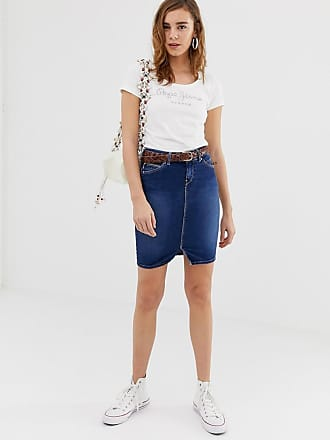 6e1867a315 Pepe Jeans London Falda de tubo vaquera Taylor de Pepe Jeans