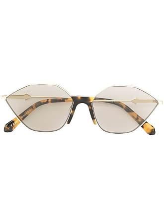 Karen Walker Óculos de sol de gatinho - Prateado