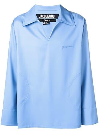 Jacquemus V-neck slip on shirt - Blue