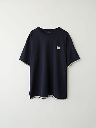 Acne Studios FA-UX-TSHI000016 Navy blue Contrasting t-shirt