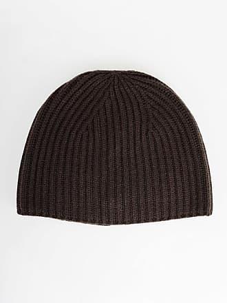 Gentryportofino Cashmere Ribbed Beanie Hat size Unica