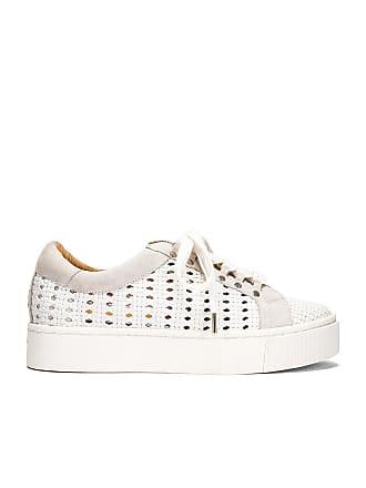 Joie Handan Woven Sneaker in White
