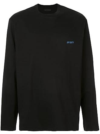 Off Duty Camiseta mangas longas - Preto