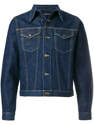 1ee880268f00 Calvin Klein Jeans Cropped-Jeansjacke mit Brusttaschen - Blau