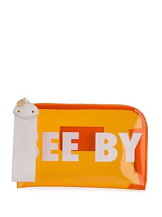 See By Chloé Cutch com estampa de logo - Laranja
