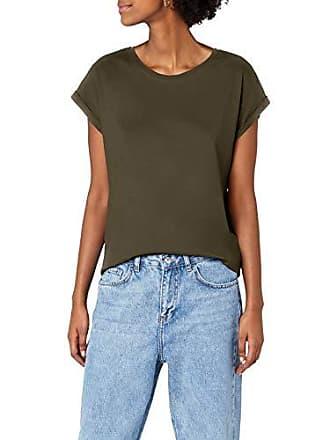 4520b1c37d8b42 Urban Classics Damen T-Shirt Ladies Extended Shoulder Tee
