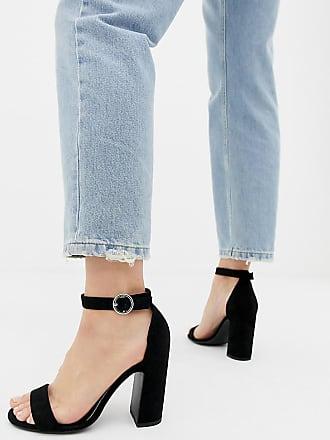 High Heel Sandaletten in Schwarz: Shoppe jetzt bis zu −63