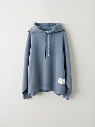 Acne Studios FN-WN-SWEA000030 Blue melange Hooded sweatshirt
