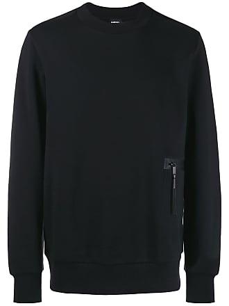 Diesel zipped pocket sweatshirt - Black