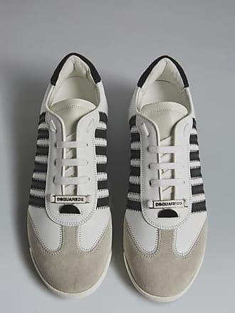 DSQUARED2 Uomo Scarpe Plateau Pelle Sneakers basse in Pelle