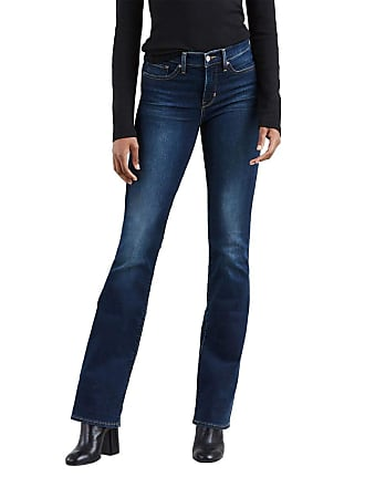 a8bdb5d18 Levi s Calça Jeans Levis Feminina 315 Shaping Bootcut Azul Escura