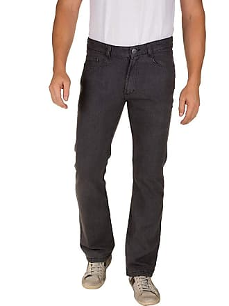 Colombo Calça Jeans Masculina Preta Lisa 49970 Colombo