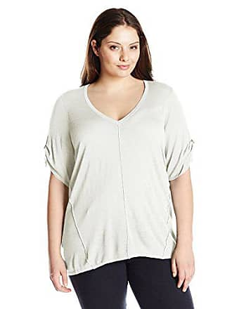 053c40e44b836 Calvin Klein Womens Plus-Size s V-Neck Slub Sweater
